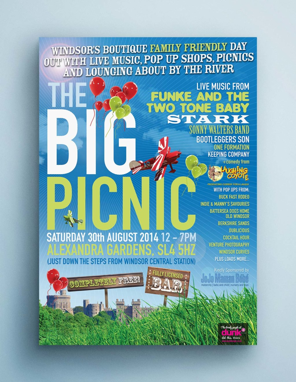The Big Picnic poster