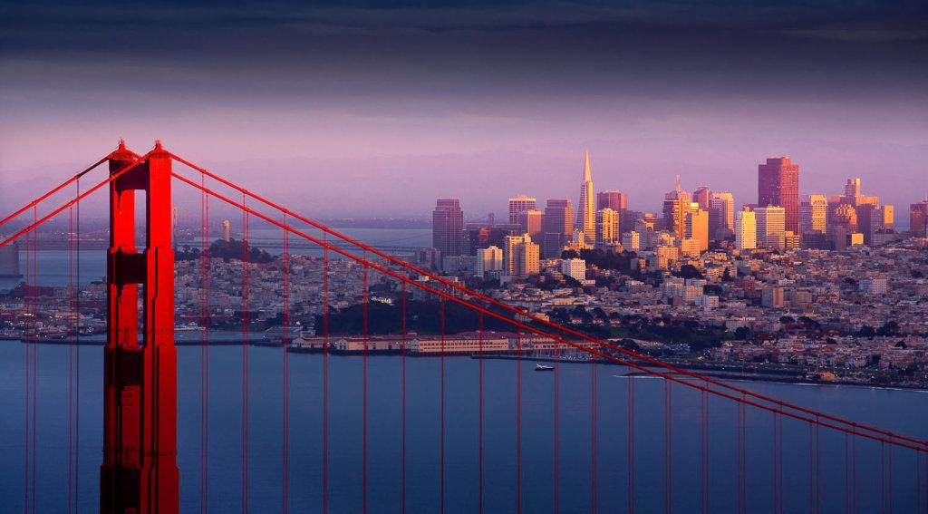 San Francisco Bay – Golden Gate Bridge