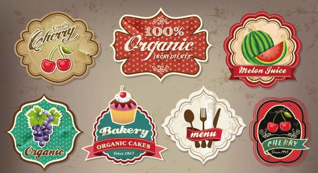 Nostalgia inspired food labels