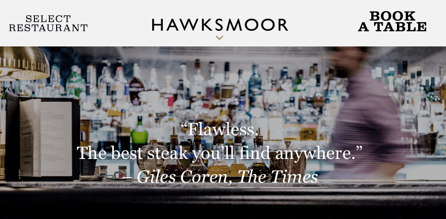 Hawksmoor website