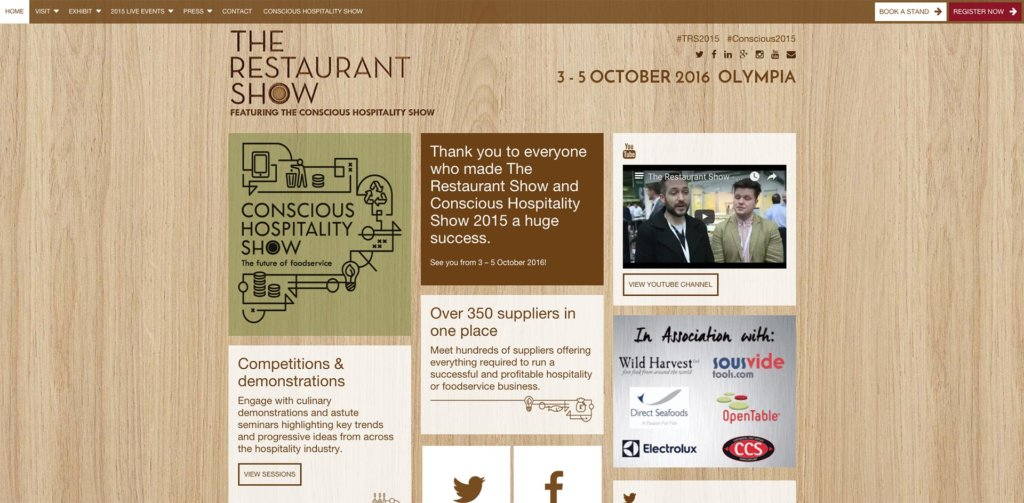 The Restaurant Show 2015
