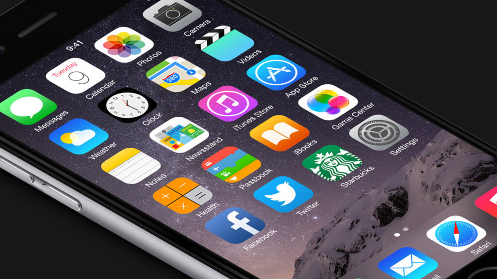 iPhone home icons