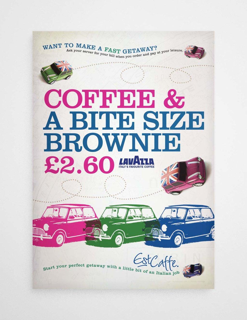Est Caffe Luton coffee poster