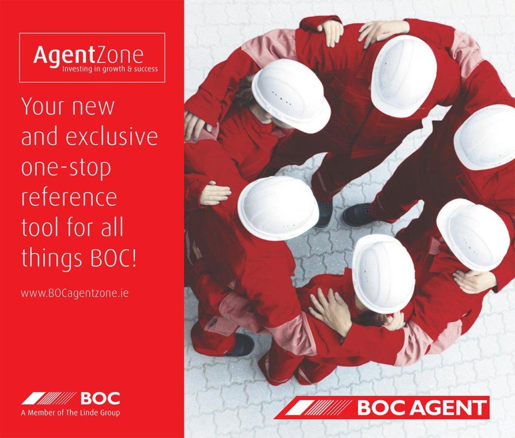 BOC AgentZone advert