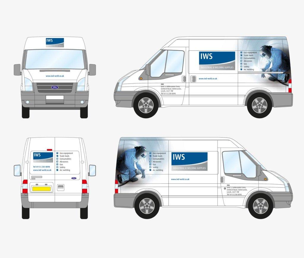 BOC Industrial and Welding Supplies van liveries