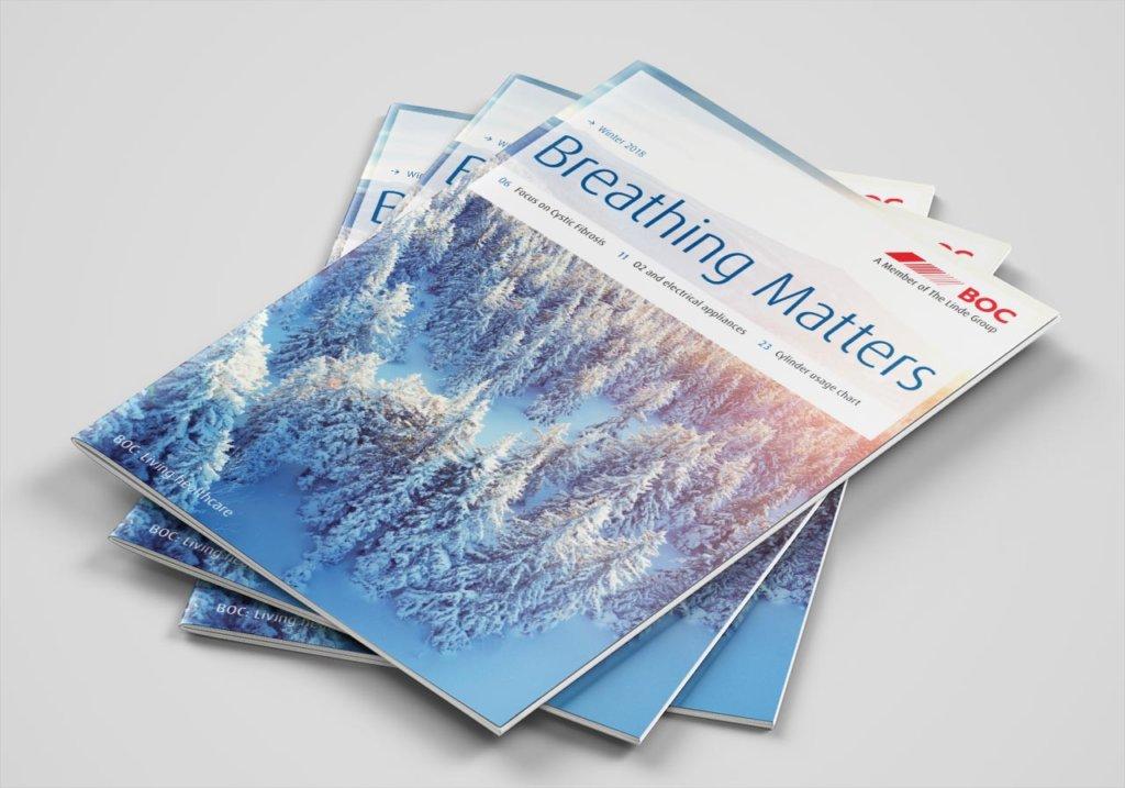 BOC breathing matters magazine