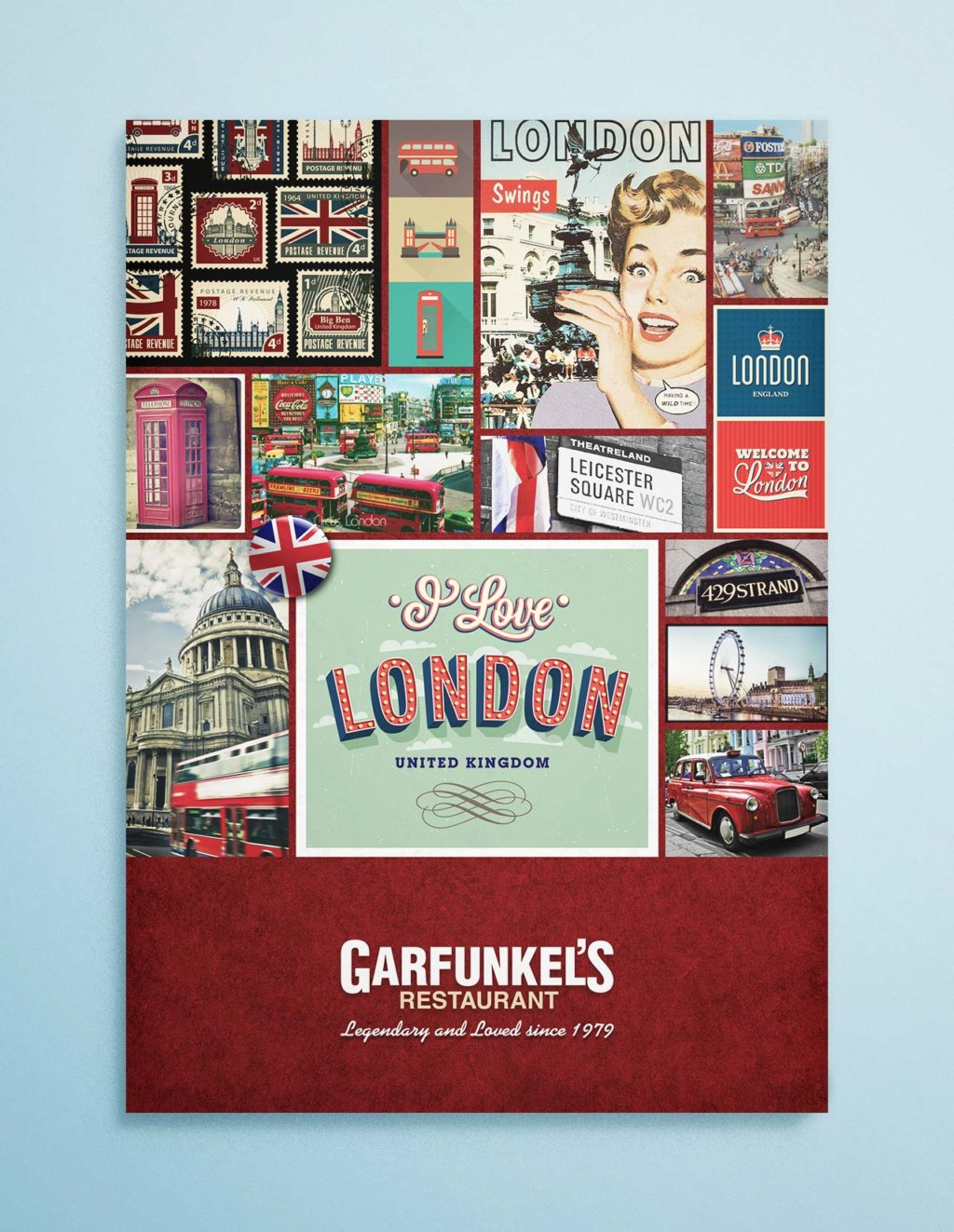 garfunkels london menu cover
