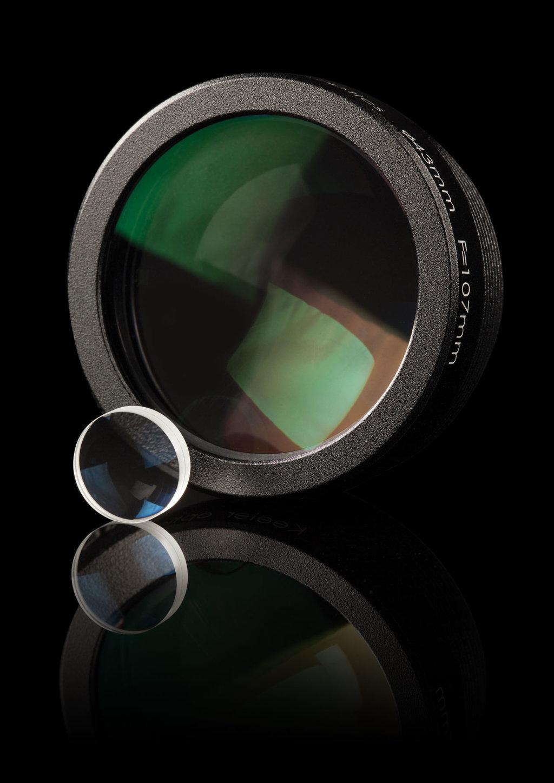 Keeler Symphony slit lamp lenses