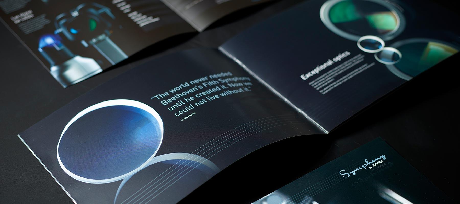 Keeler Symphony brochure spreads