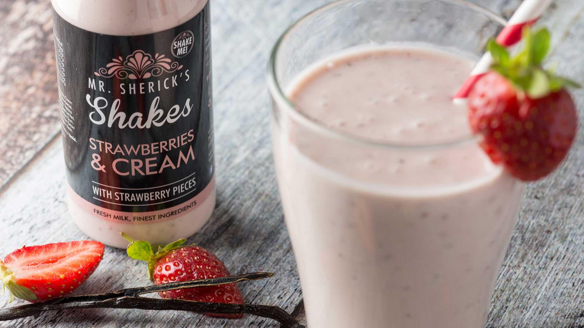 mr shericks shakes strawberry pavlova