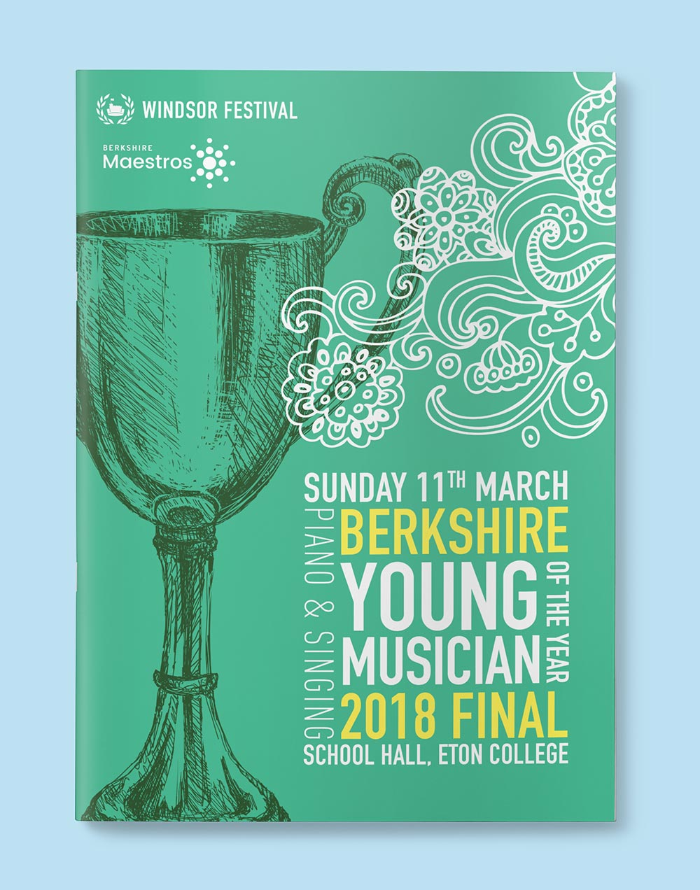 Berkshire young musician of the year final poster