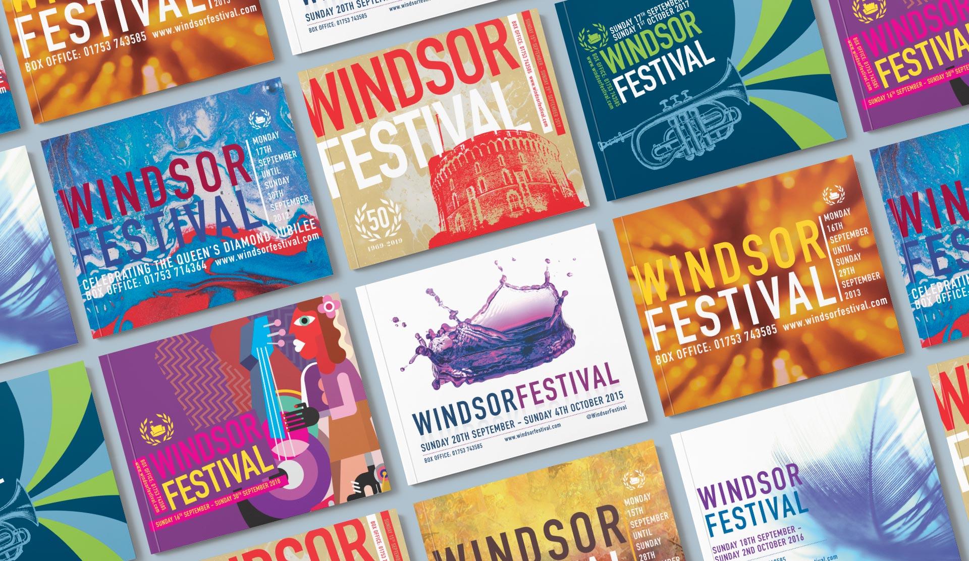 windsor festival brochure covers