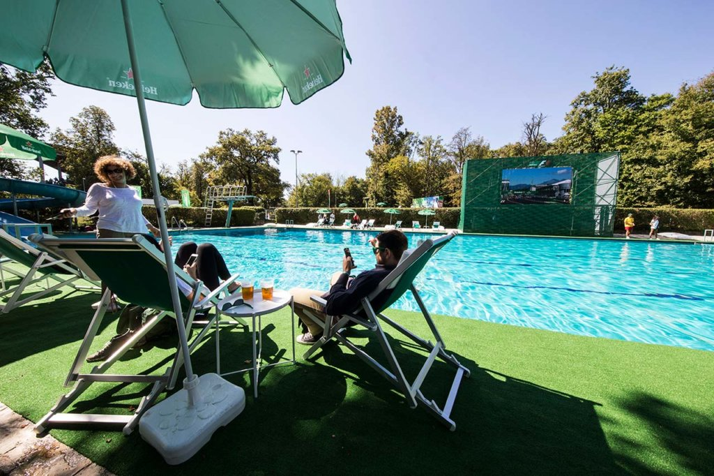 heineken f1 pool party