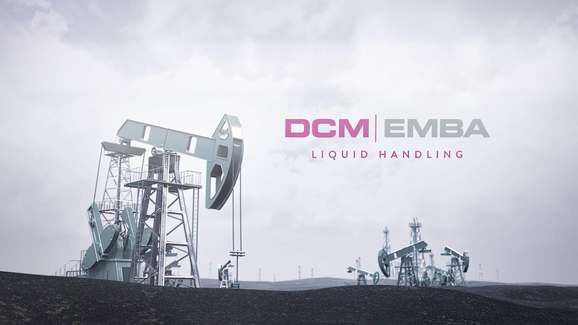 DCM EMBA liquid handling